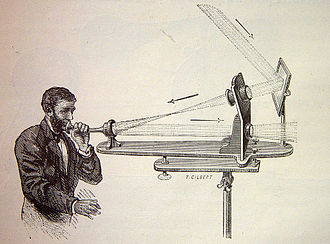 AG Bell's Photophone Drawing