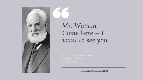 Union Wireless. Alexander Graham Bell: An Overnight Success