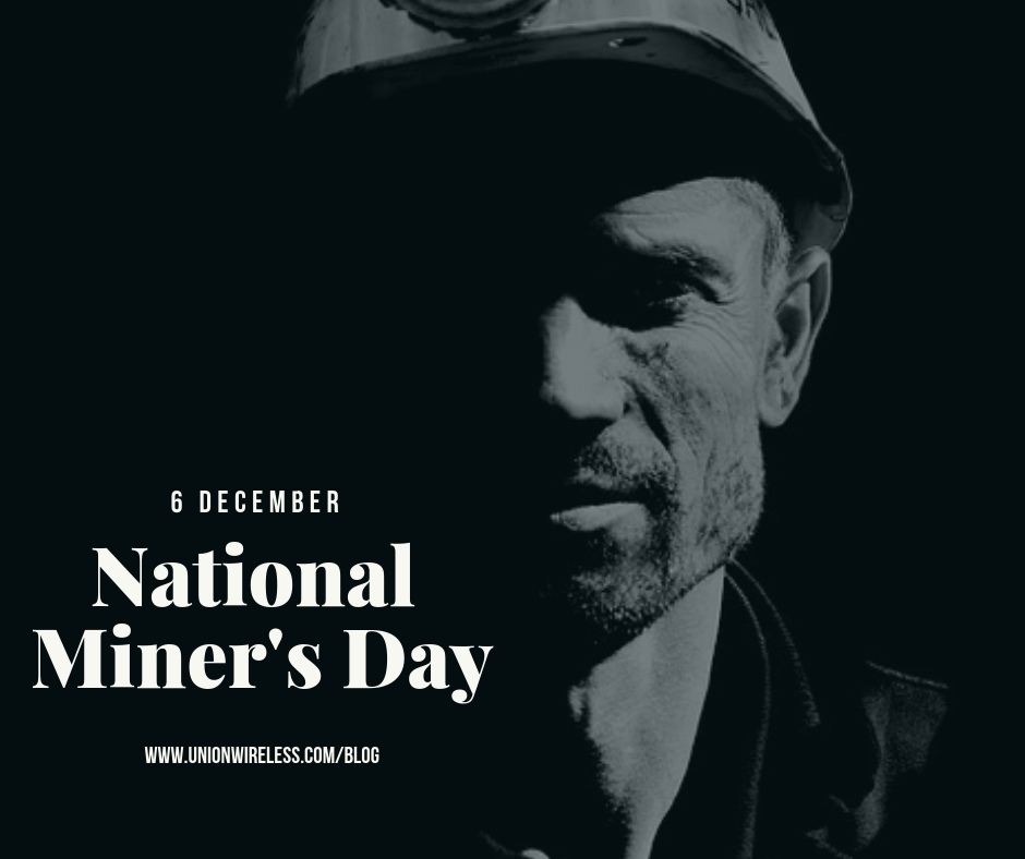 Graphic of Miner for National Miner's Day