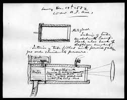 AG Bell's metal detector drawing
